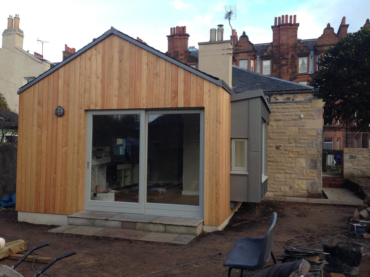 Timber Roof Cladding Amp Hidden Gutters Dwell Pinterest